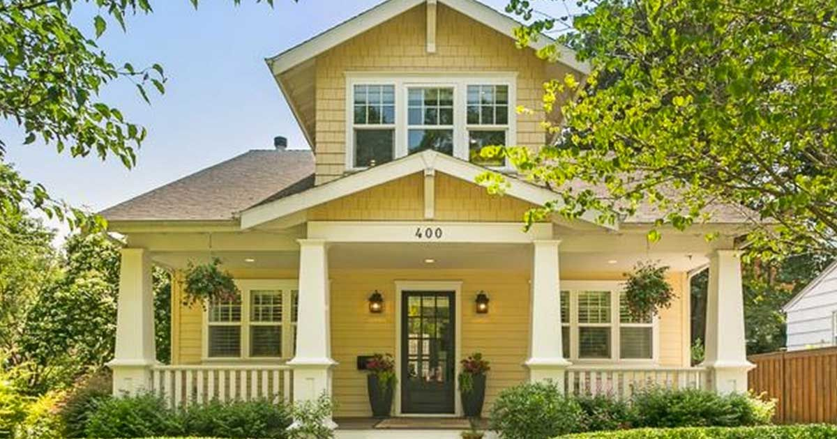 Sunny craftsman home with modern upgrades is the best of for Modern house upgrades